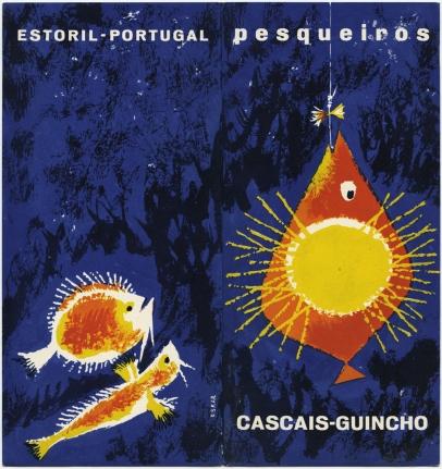 Folheto Pesqueiros Cascais-Guincho, 1961