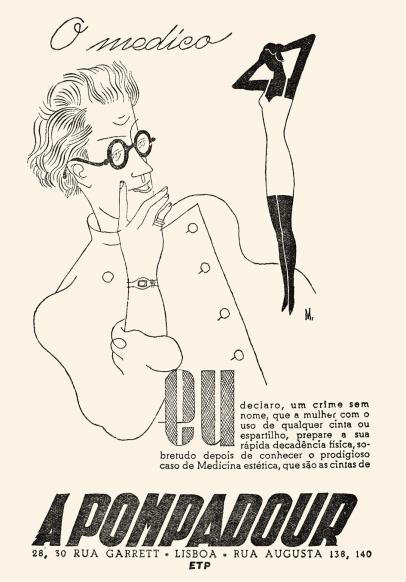 A Pompadour Ver e Crer n.º 37 maio 1948 Maria Keil