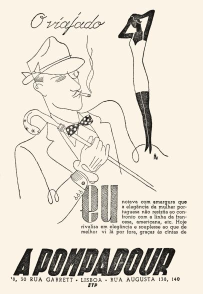 A Pompadour Ver e Crer n.º 36 abril 1948 Maria Keil
