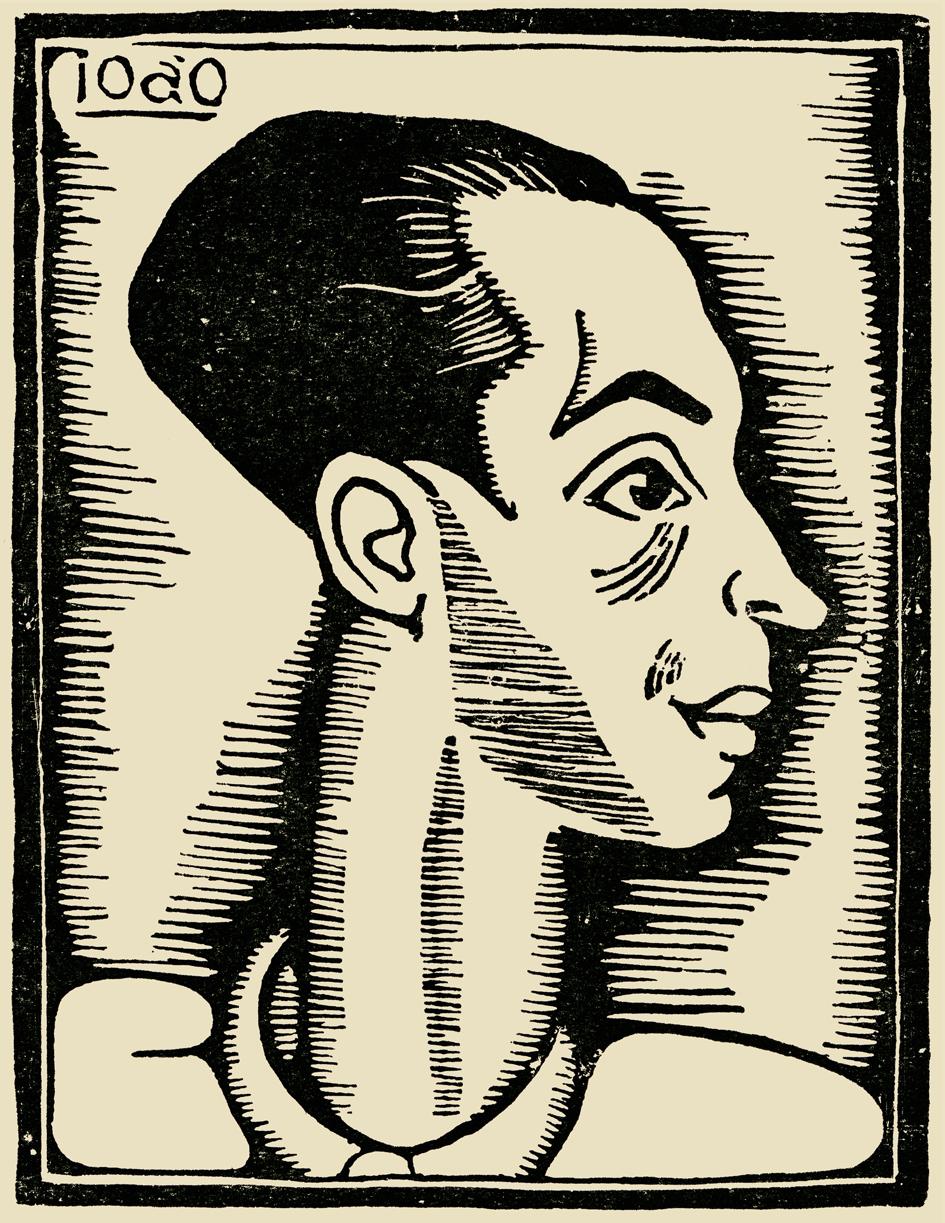 João Carlos autorretrato 1930
