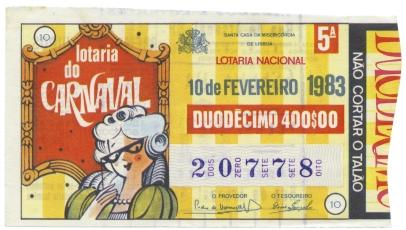 Zé Manel 1983 carnaval