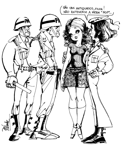 Zé Manel anedota mar 1969