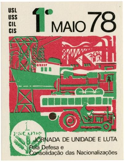 1.º de maio 78 nacionalizações