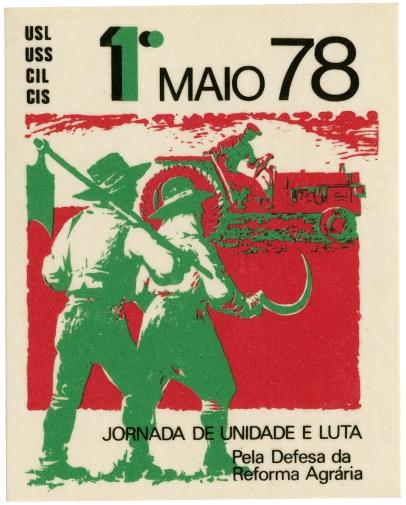 1.º de maio 78 reforma agrária