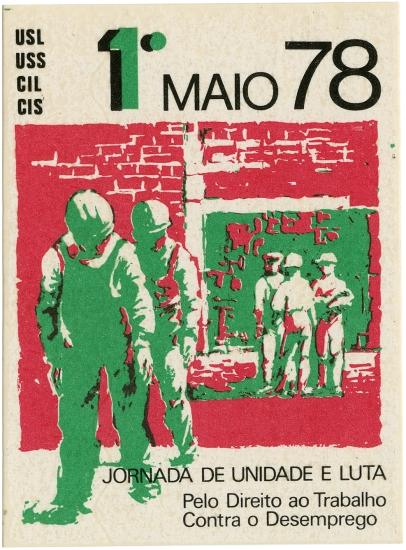 1.º de maio 78