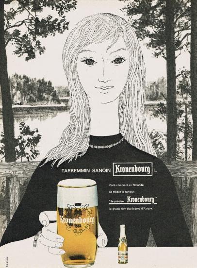 1962 kronenbourg finlandesa