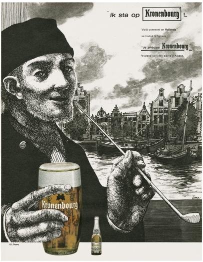 1962 kronenbourg holandes
