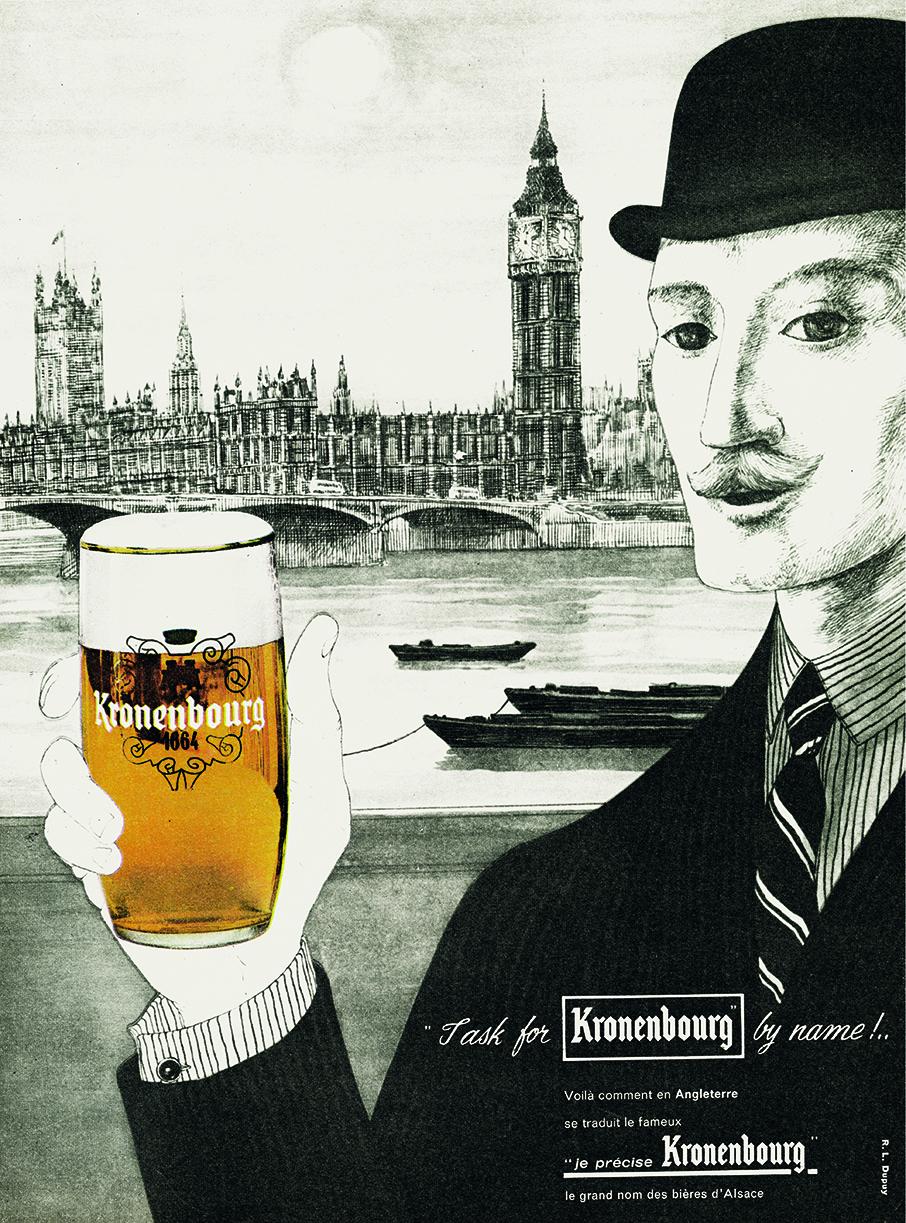 1962 kronenbourg inglês